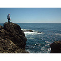 Braver Than Me (my son on a windy cliff in Mendocino in July of this year)