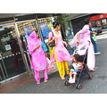 Street people Doncaster England uk woman children indien
