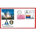 stamps space space shuttle Arzona Florida Alantis Columbia