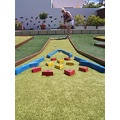 crazy golf colours fun happy