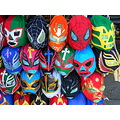 Masks mexican curious wrestling
