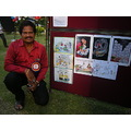 Cartoon Utsav 2012 Toonfest telugu cartoonist meet public garden chakravarthi