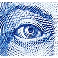 dubrovnik kroatia money blue kuna note eye