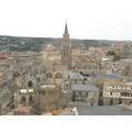 Spain Toledo Vista Catedral Cathedral Gothic Gothique