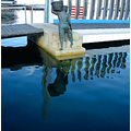 reflectionthursday statue fisherman fremantle harbour littleollie