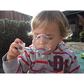 grandson bubbles