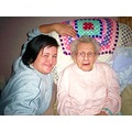 my nana and my daughter 105th birthday