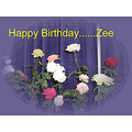 Birthday Wishes Zee