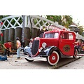 Garden Train LGB FireDepartment FireEngine Oldtimer Solido Ford V8