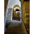 stair to tower in castle keep