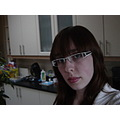 me and my new glasses =)