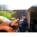 VW VWBEETLE VWbug orange car bug beetle