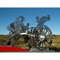e620 sculpture art Thors wagon straumur Iceland