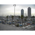 port puerto harbor harbour olympic olimpic olimpico barcelona sea skyscraper