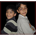 Khizar and Azam...My two naughty nephew's...