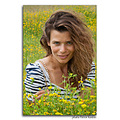 girl woman wife portrait flowers summer nature
