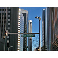 denver denverfph downtown street sign signfph buildings architecture city