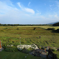 Saturday 30th July - 7am  11. Lovely sunny day - the view from our window across to Fairbourne