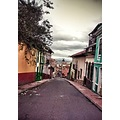 Bogota Colombia old colonial