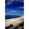 copacabana beach blue sky