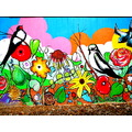 Birds Bright Color Painting
