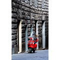 Siena Italy moto red new year resolution 2008
