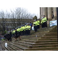 edl rally bolton police town hall