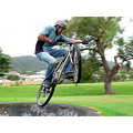 boy skatebowels bike mountainbike mtb man jump extreme