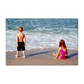 sand beach kids funny nice warm florida panama city surf waves