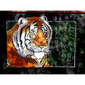 Tiger Wall Painting