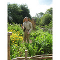 10.  .........the gardener in period costume growing all sorts of vegetables we hadn't heard of a...