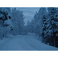 Road winter snow Finland