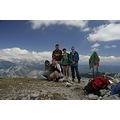 Team on top of Vogel, Slovenia  1/250 f10 18mm iso400