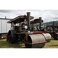 wales hayonwye threecocks rally vehicles people