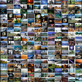 MY BIGEST COLLAGE, 216 NATIONAL GEOGRAPHIC PHOTOS PUBLISHED ONE PER DAY,  YEAR 2.005.   EACH ONE ...