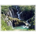 Another view of Plitvice waterfall