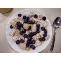 food breakfast cereal milk orange juice blueberry stlouis missouri