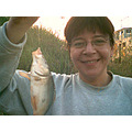 fish fishing glases smile