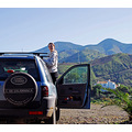 home alora hills landrover spain nature people land view blue fun tour