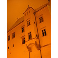 sibiu winter medieval architecture city cityscape street building