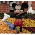 Floral Mickey.