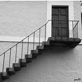 steps stairs bw