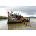 Boat Wreck Bunbeg County Donegal Ireland