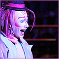 cirque du soliel circus clown fun pink