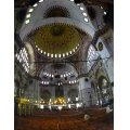 inside of Hagia Sofia