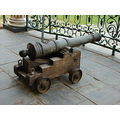Old ships cannon