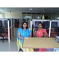 Smita & Padmashree in DBMS Lab