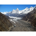 BiafoGyong Glacier, Northern Areas Pakistan. Approx Altitude is above 18,000 ft.