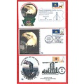 911 10th Anniversary Remembering stamps covers