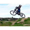 boy mtb mountainbike mountainbiker jump extreme